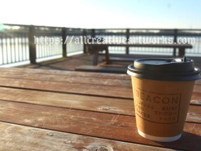 久喜菖蒲公園_コーヒー
